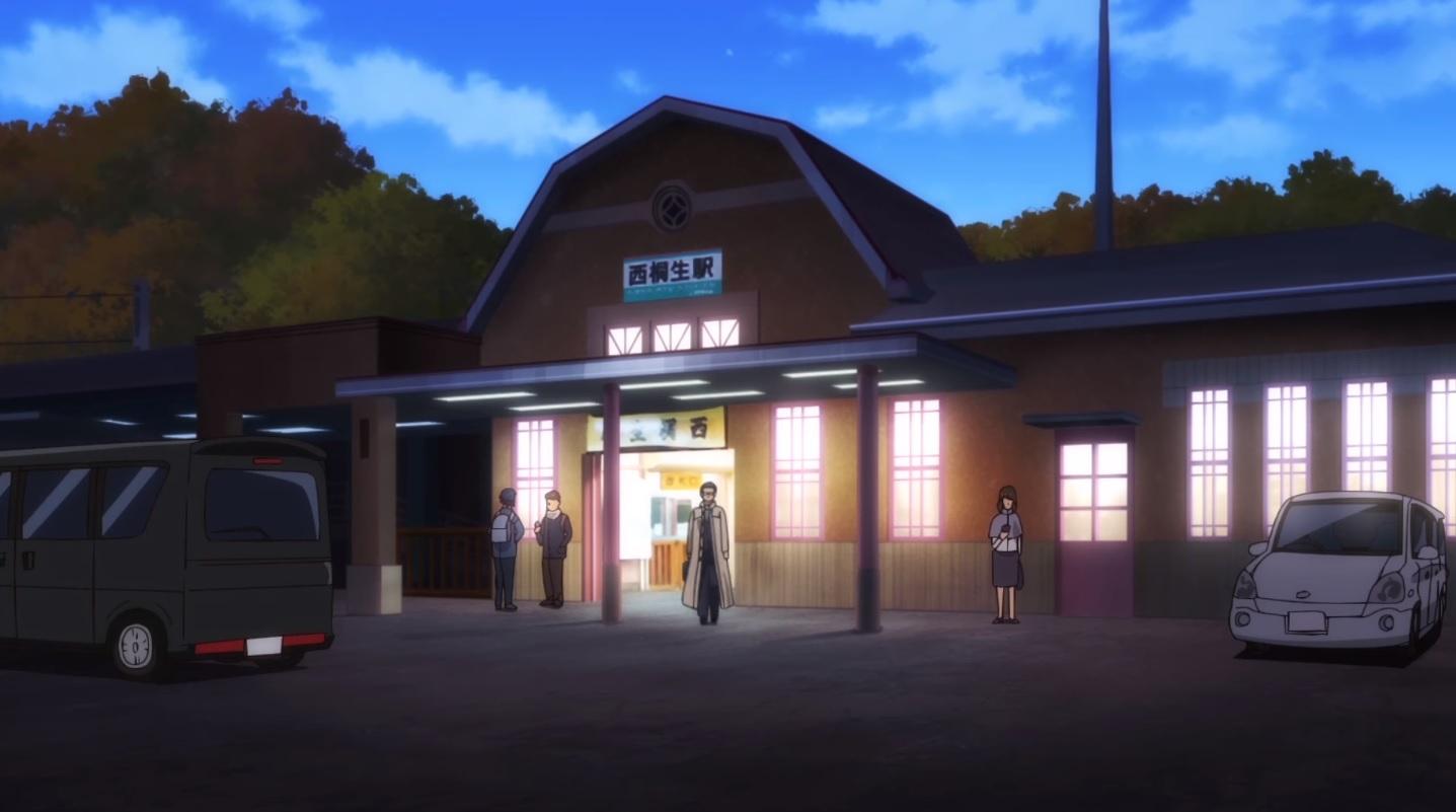 ヴァーチャル背景西桐生駅